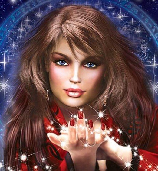 Магическая женщина
